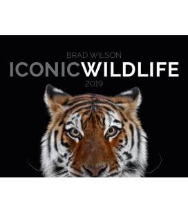 Wandkalender Iconic Wildlife 2019