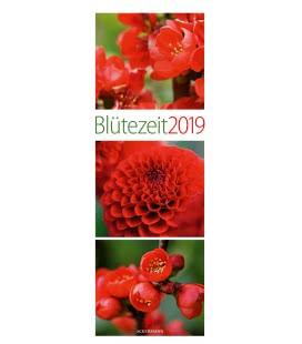 Nástěnný kalendář Květy / Blütezeit 2019