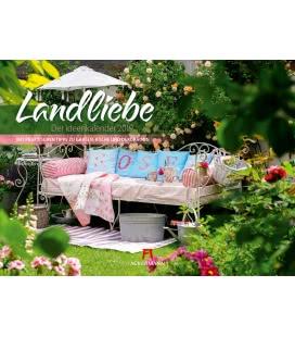 Nástěnný kalendář Romantická zákoutí / Landliebe 2019