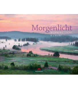 Nástěnný kalendář Ranní světlo / Morgenlicht 2019