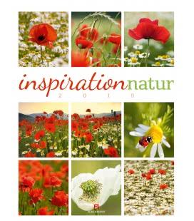 Nástěnný kalendář Inspirace přírodou / Inspiration Natur 2019