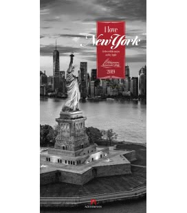 Nástěnný kalendář New York / I love New York 2019