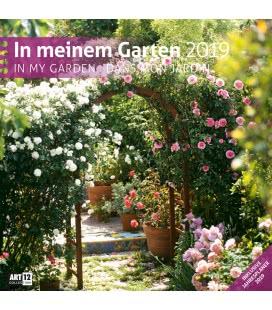 Nástěnný kalendář V mé zahradě / In meinem Garten 2019