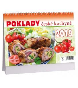 Stolní kalendář Poklady české kuchyně 2019