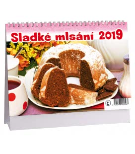 Stolní kalendář Sladké mlsání 2019