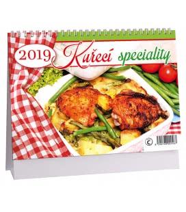 Stolní kalendář Kuřecí speciality 2019