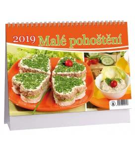 Tischkalender Malé pohoštění 2019
