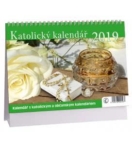 Stolní kalendář Katolický kalendář 2019