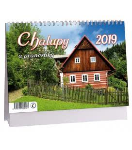 Table calendar Chalupy a pranostiky 2019