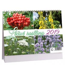 Stolní kalendář Léčivé rostliny 2019