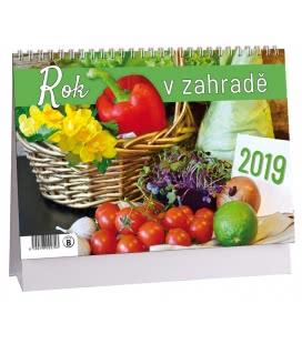 Stolní kalendář Rok v zahradě 2019