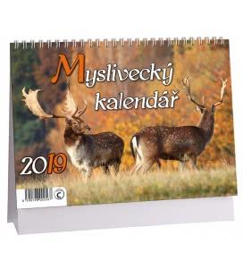 Stolní kalendář Myslivecký kalendář 2019