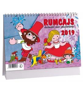 Stolní kalendář Rumcajs - omalovánky 2019