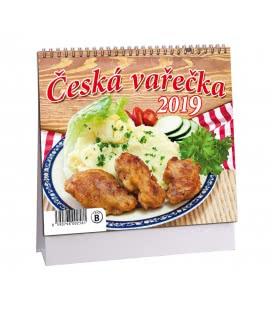 Stolní kalendář Česká vařečka 2019
