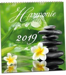 Nástěnný kalendář Harmonie 2019