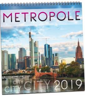 Nástěnný kalendář Metropole 2019
