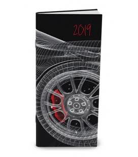 Monthly pocket Diary - Božka - lamino - Design 2019