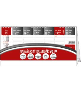 Stolní kalendář Manažerský kalendář (CZ/SK) 2019