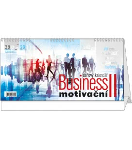 Table calendar Business II. motivační 2019