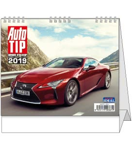 Stolní kalendář IDEÁL - Autotip 2019
