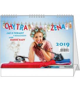 Stolní kalendář Chytrá žena 2019