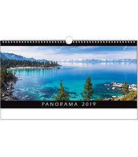 Nástěnný kalendář Panorama 2019