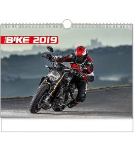 Nástěnný kalendář Motorbike - A3 2019