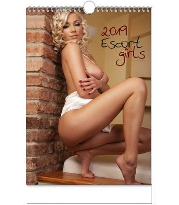 Nástěnný kalendář Escort Girls - A3 2019