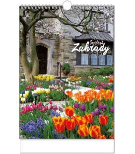 Nástěnný kalendář Zahrady - A3 2019