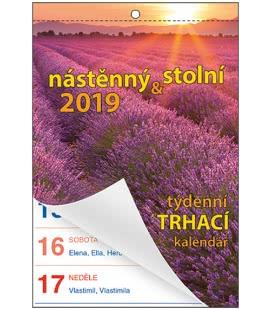 Nástěnný kalendář Senior I. - A6 2019