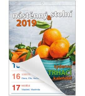 Nástěnný kalendář Senior II. - A5 2019