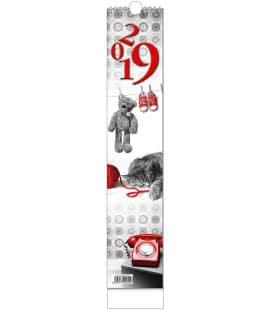 Nástěnný kalendář Kravata - Žánrový - vázanka 2019