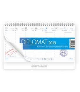 Table calendar Diplomat 2019