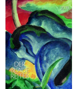 Nástěnný kalendář Modrý jezdec / Der Blaue Reiter 2019