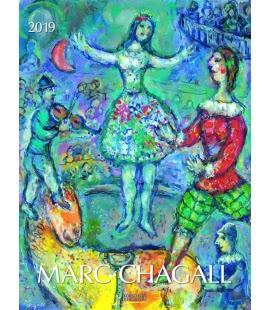 Nástěnný kalendář Marc Chagall 2019