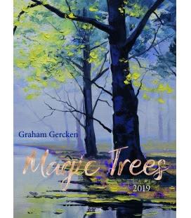 Nástěnný kalendář Magické stromy / Magic Trees - Graham Gercken 2019