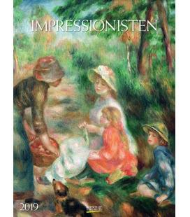Nástěnný kalendář Impresionismus / Impressionisten 2019