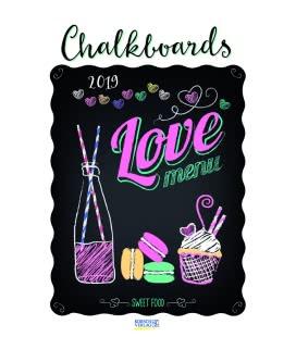 Nástěnný kalendář Tabule / Chalkboards 2019
