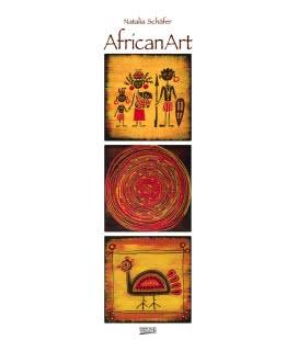 Nástěnný kalendář AfricanArt - Natalia Schäfer 2019