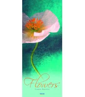 Nástěnný kalendář Květiny / Flowers - Claudia Drossert 2019