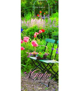 Nástěnný kalendář Zahrady / Gärten - Ursel Borstell 2019