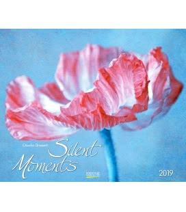 Nástěnný kalendář Okamžiky ticha / Silent Moments - Claudia Drossert 2019