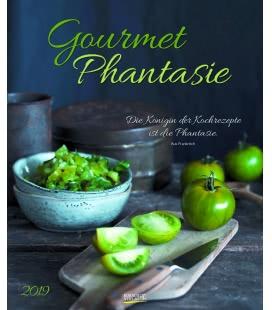Nástěnný kalendář Gurmánské fantazie / Gourmet Phantasie 2019