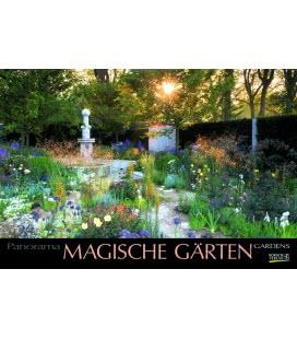 Nástěnný kalendář Magické zahrady / Magische Gärten 2019