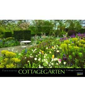 Nástěnný kalendář Zahrady / Cottagegärten - Annette Timmermann 2019