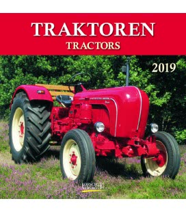 Nástěnný kalendář Traktory / Traktoren (BK) 2019
