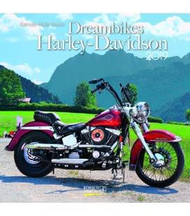 Nástěnný kalendář Motorky snů / Dreambikes (BK) 2019