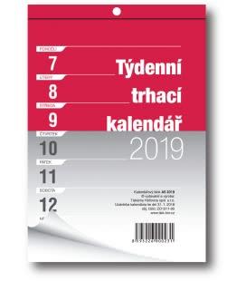 Nástěnný kalendář Blok A5 trhací týdenní 2019