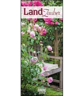 Nástěnný kalendář Kouzlo země / Landzauber 2019