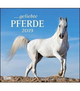 Wandkalender ...geliebte Pferde 2019